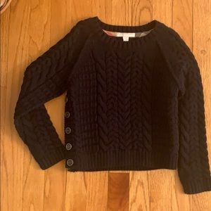 Boys Burberry cable Sweater